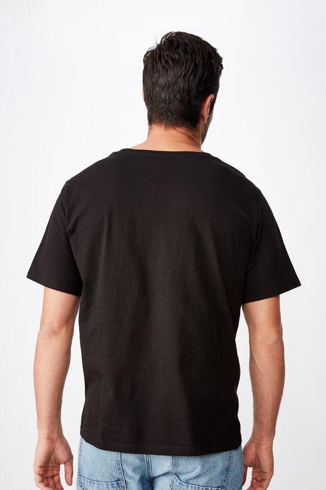 Tbar Collab Music T-Shirt, LCN LN BLACK/RATM - BATTLE OF LOS ANGELES