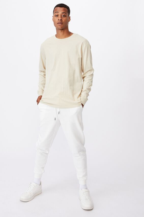 Tbar Long Sleeve T-Shirt, PALE SAND