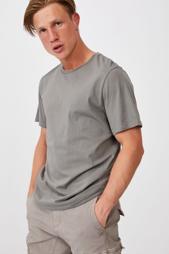Essential Crew T-Shirt, SLATE STONE