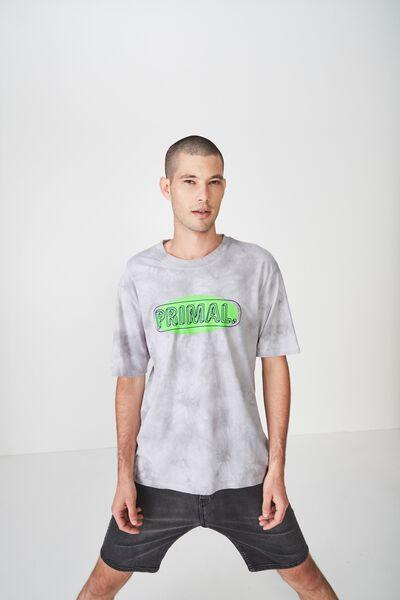 Street T-Shirt, GREY/PRIMAL 80S