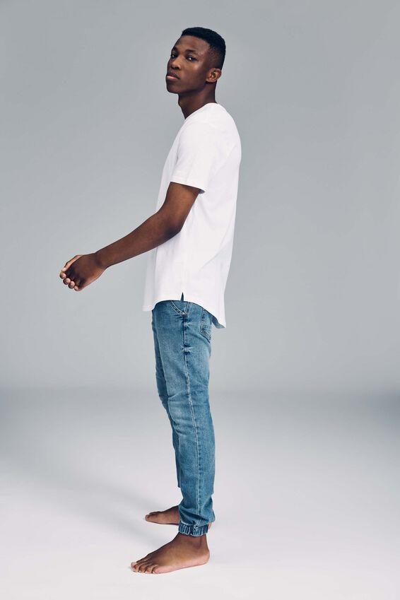 Slim Denim Jogger, EVERYDAY BLUE
