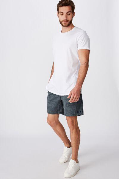 Personalised Hoff Short, SLATE / CIRCLE PAISLEY
