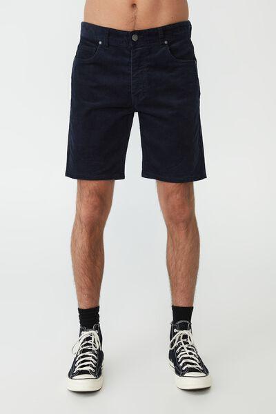 Straight Short, INDIGO CORD