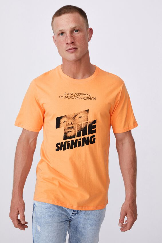 Tbar Collab Movie And Tv T-Shirt, LCN WB PUMPKIN/THE SHINING - MASTERPIECE