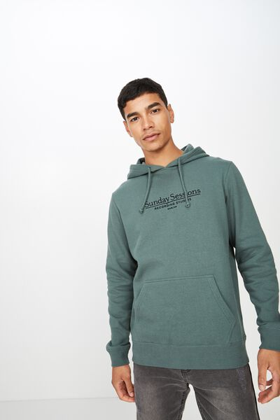 Fleece Pullover 2, FROSTED KHAKI/SUNDAY SESSIONS