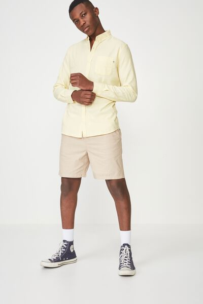 Brunswick Shirt 3, YELLOW OXFORD