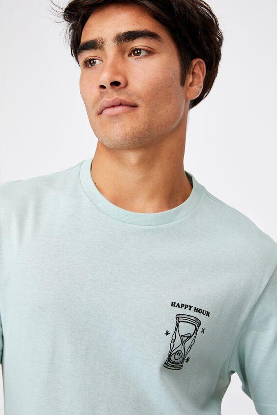 Tbar Art T-Shirt, MIST BLUE/HAPPY HOUR
