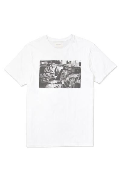 Tbar Tee, WHITE/CONFINED REFLECTION