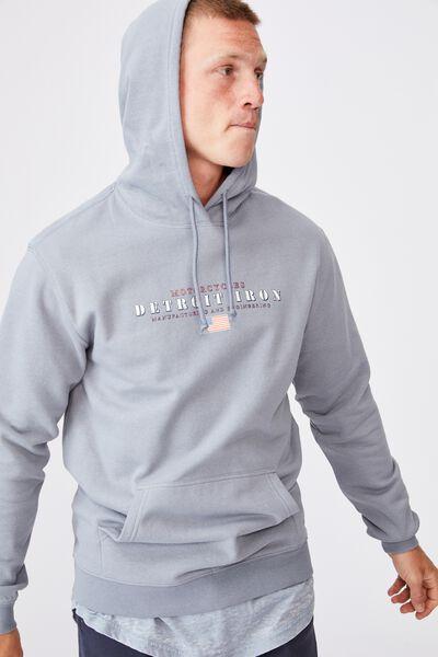 Fleece Pullover 2, CITADEL/DETROIT IRON