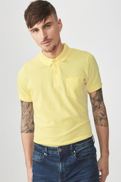 Icon Polo, POP YELLOW POCKET