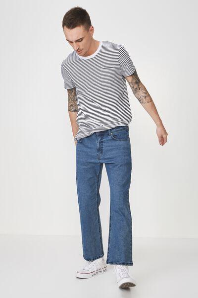 Vintage Straight Jean, DARK STONE