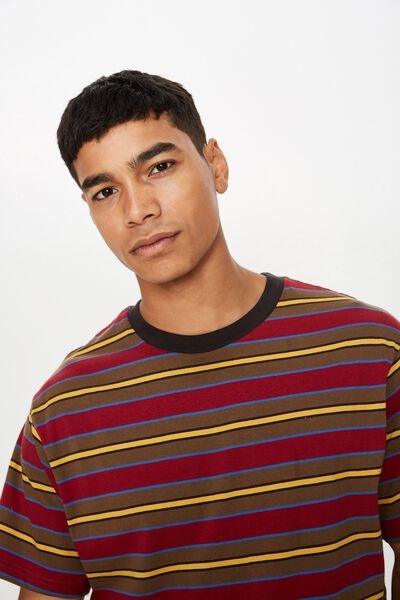 Dylan Tee, BRICK RED/CHOCOLATE/BLUE DELIGHT/WASHED BLACK/NUGG