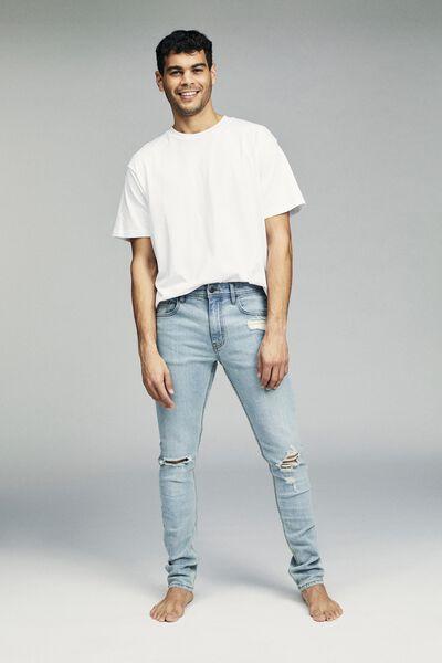 Super Skinny Jean, MOTTLE BLUE + BLOWOUT