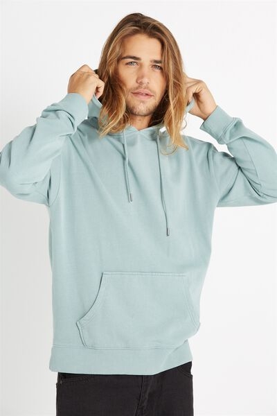 Fleece Pullover 2, MINERAL BLUE