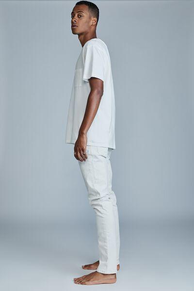 Slim Fit Jean, WASHED ECRU