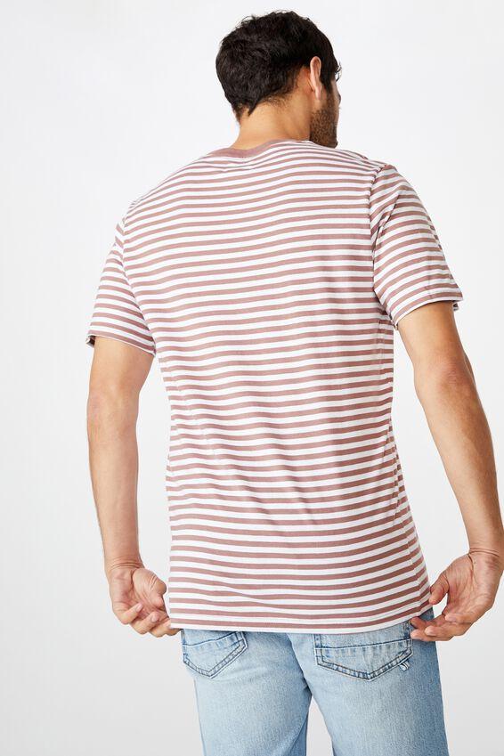 Tbar Premium T-Shirt, DIRTY BURG/WHITE/50/50 STRIPE