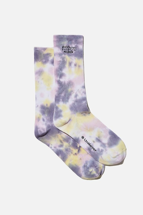 Special Edition Active Sock, LCN STR STREETS/RAINBOW PADDLE POP/TIE DYE