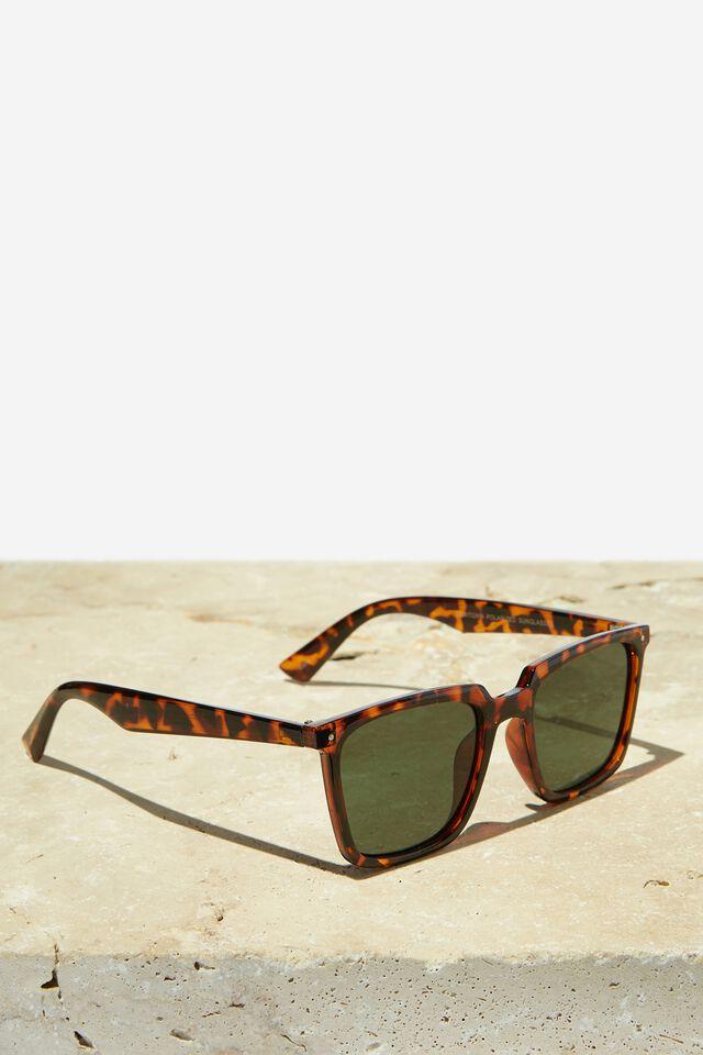 Newtown Polarized Sunglasses, TORT