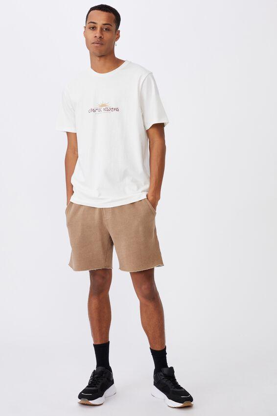 Tbar Art T-Shirt, VINTAGE WHITE/COSMIC VISIONS