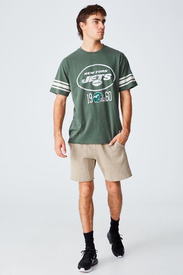 Active Collab Oversized T-Shirt, LCN NFL FOREST/NFL - NEW YORK JETS VINTAGE
