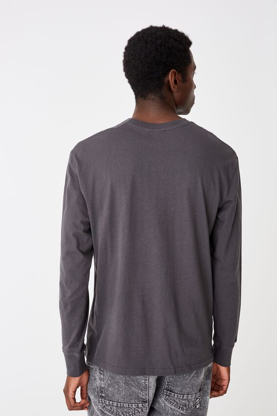 Tbar Long Sleeve, FADED SLATE/ABSTRACT COLLECTIVE EMB