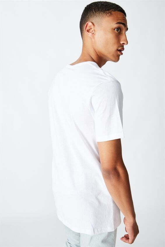 Essential Henley T-Shirt, WHITE