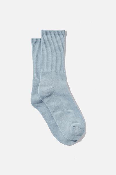 Essential Active Sock, POWDER BLUE