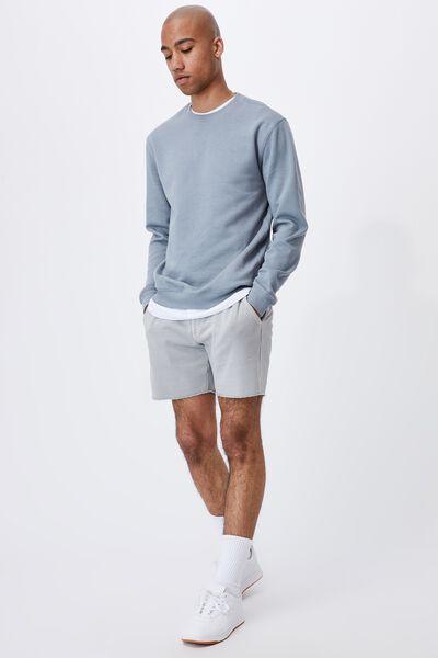 Pigment Fleece Short, PIGMENT OVERCAST GREY