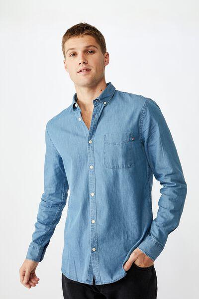 Brunswick Shirt 3, CLASSIC CHAMBRAY