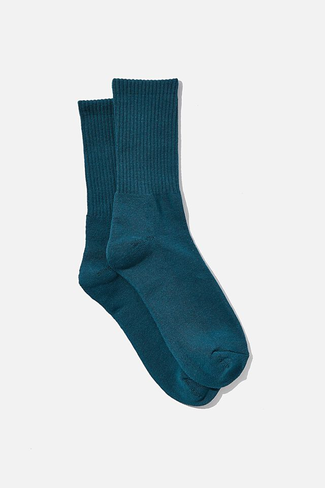Essential Active Sock, DEEP TEAL