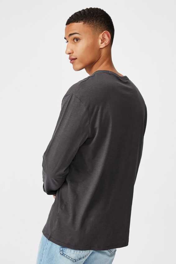 Otis Long Sleeve, FADED SLATE