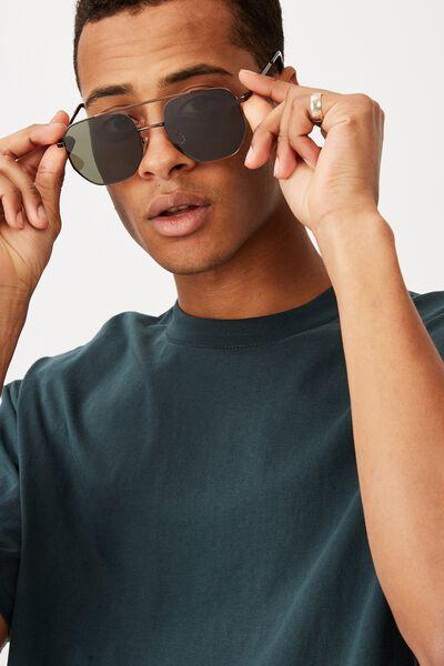 Inverlock Sunglasses, MATTE BLACK/SMOKE