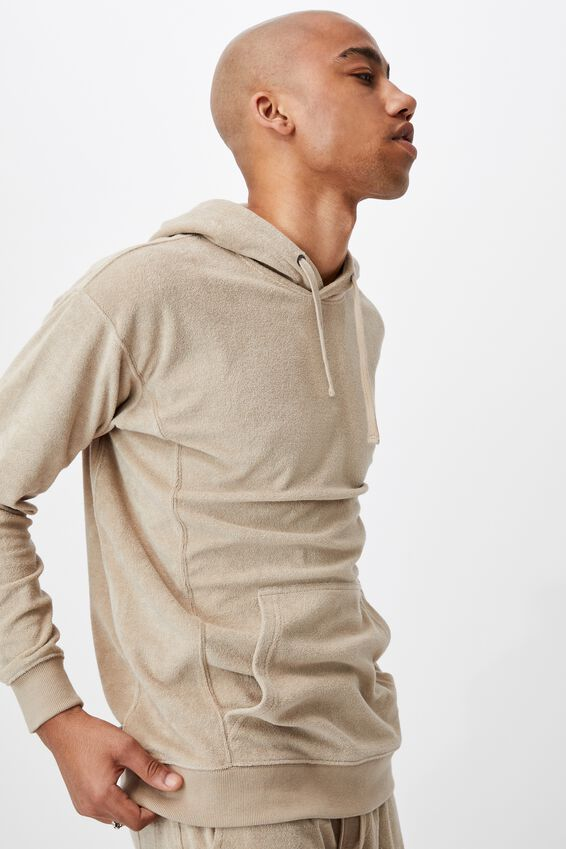 French Terry Pullover, GRAVEL STONE