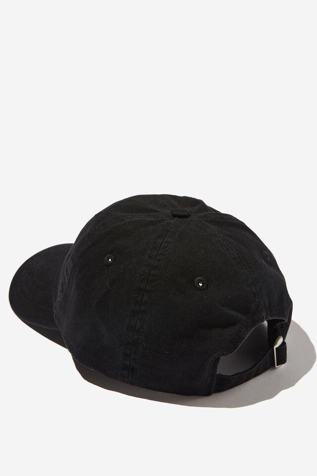 Special Edition Dad Hat, LCN GRE WASHED BLACK/GRATEFUL DEAD LOGO