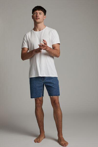Rigid Straight Short, COOGEE BLUE