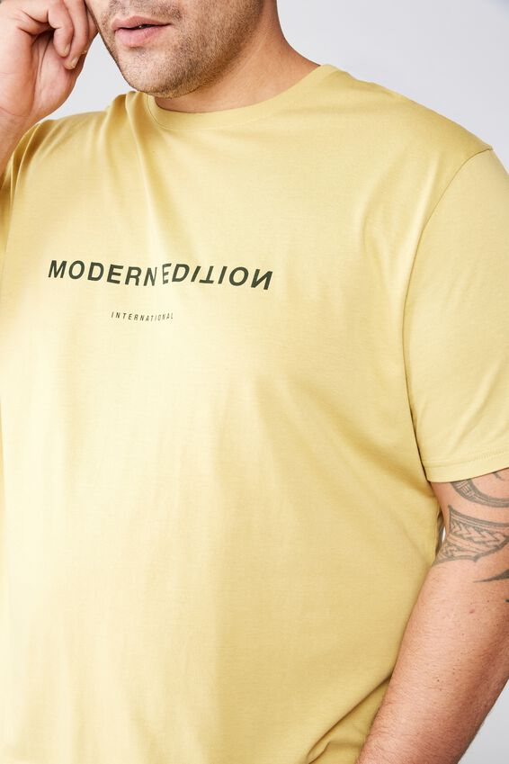 Tbar Tee, FROSTED HONEY/MODERN EDITION FLIPPED