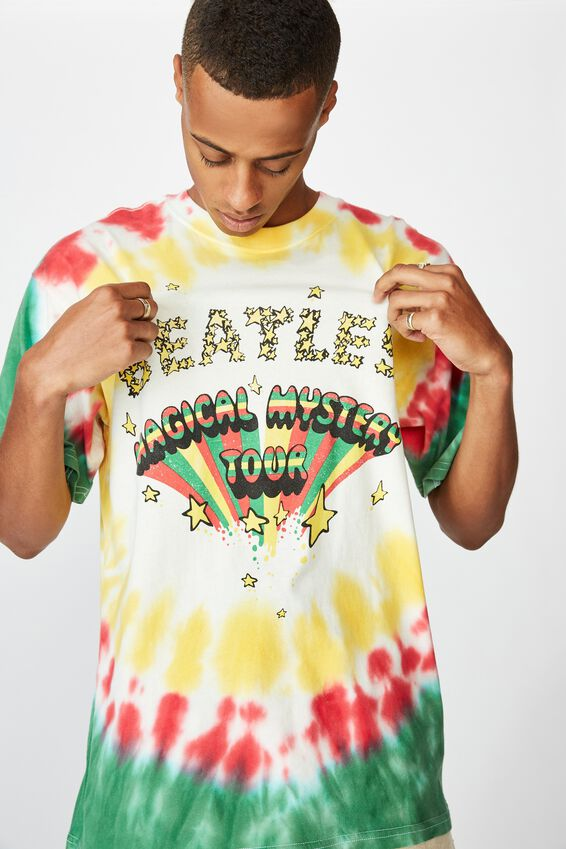 Special Edition Tee, LCN APP VINTAGE WHITE/THE BEATLES MAGICAL MYSTERY