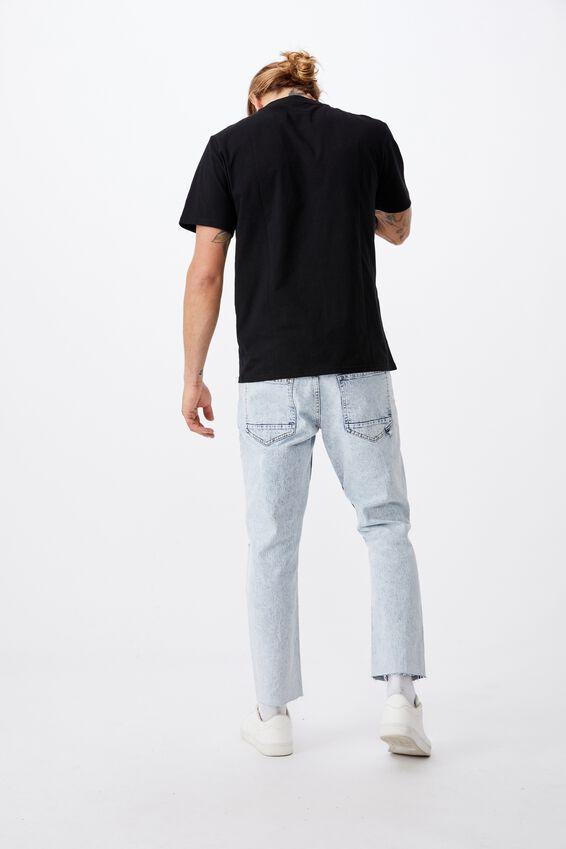 Tbar Text T-Shirt, BLACK/SHIBUYA CITY