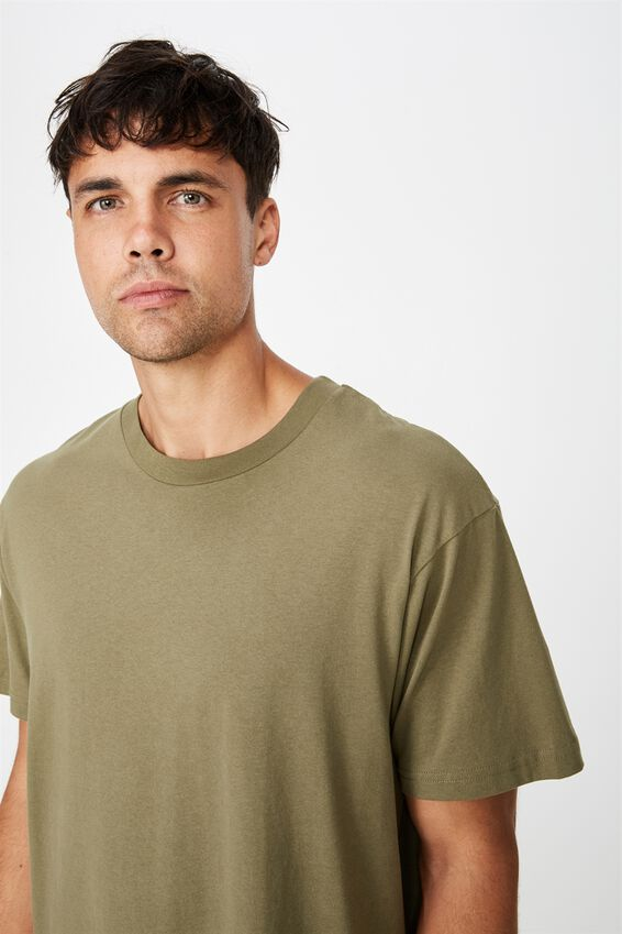 Essential Skate T-Shirt, JUNGLE KHAKI