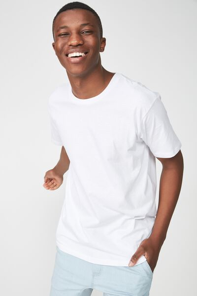 Essential Skate Tee, WHITE