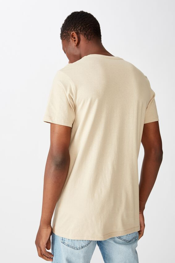 Essential Crew Tee, STONE CLAY