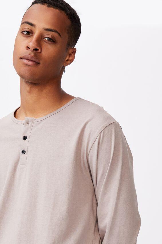 Longline Scoop Long Sleeve T-Shirt, DUSK