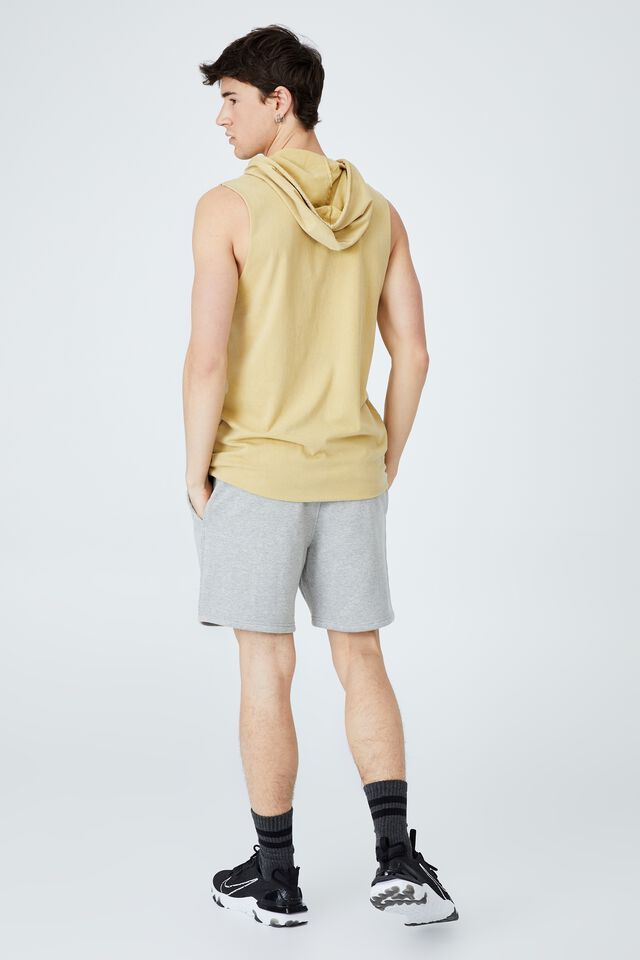 Active Collab Hooded Muscle, LCN NFL SAUTERNE YELLOW/NEW ORLEANS SAINTS