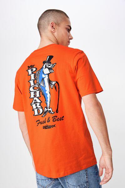 Tbar Souvenir T-Shirt, CHERRY TOMATO/MR.PILCHARD