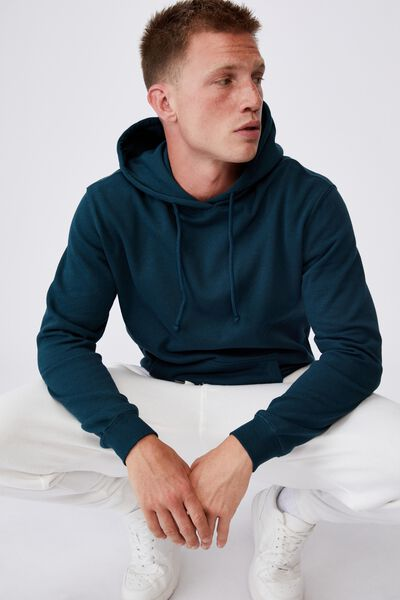 Essential Fleece Pullover, DEEP SEA TEAL