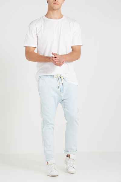 Denim Roller Pant, CLOUD BLUE