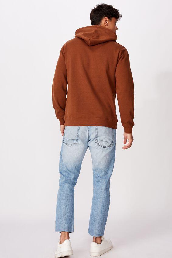 Fleece Pullover 2, DASCHUND BROWN/MODERN EDITION