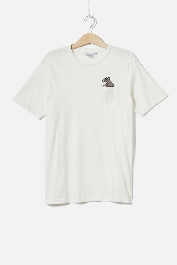 Tbar Cny T-Shirt, VINTAGE WHITE/CNY RAT
