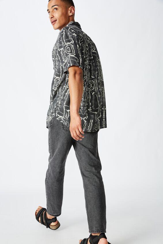 91 Short Sleeve Shirt, MARBLE TRIBAL