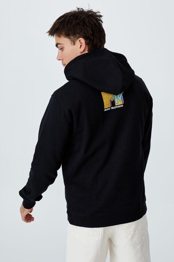 Collab Fleece Pullover, LCN MTV BLACK/MTV-ASTRONAUT